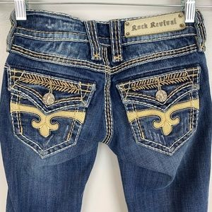Rock Revival Dara boot cut jeans